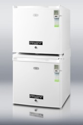 Summit Vaccine Amp Medical Stackable Refrigerator Freezer
